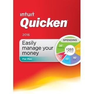 Quicken for Mac 2016 Mac