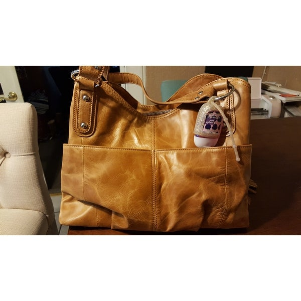 Shop Vicenzo Leather Athena Tan Italian Leather Handbag - Free Shipping  Today - Overstock.com - 10363273 6dc0cca2dd