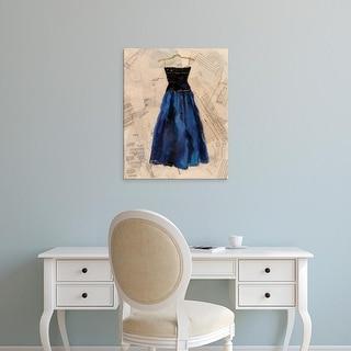 Easy Art Prints Pamela Copeman's 'Fashion Designed I' Premium Canvas Art