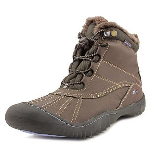 JBU by Jambu Pullman Women  Round Toe Synthetic Brown Snow Boot