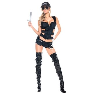 Hoty Sheriff Costume Set, Hoty Police Costume For Women
