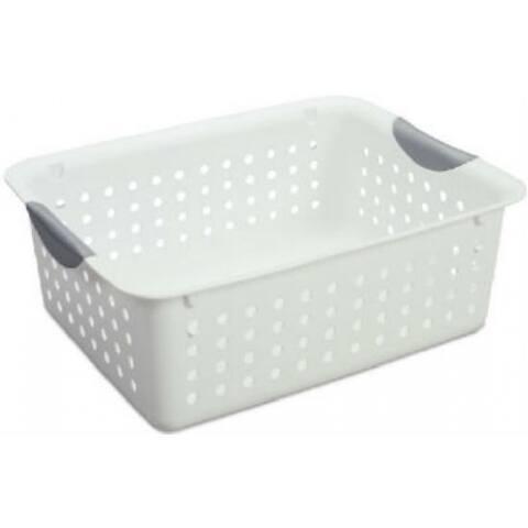 Sterilite 16248006 Medium Ultra Basket, White
