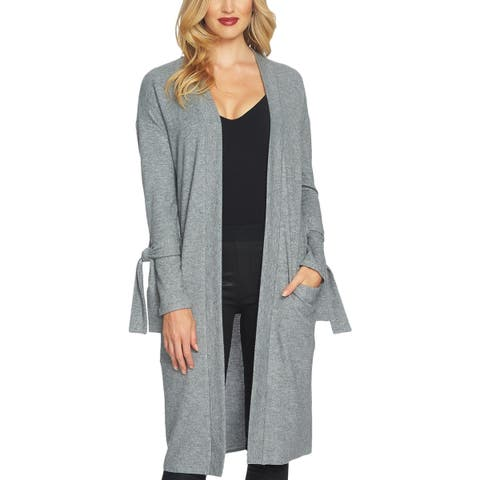 1.State Womens Duster Sweater Office Wear Open Front