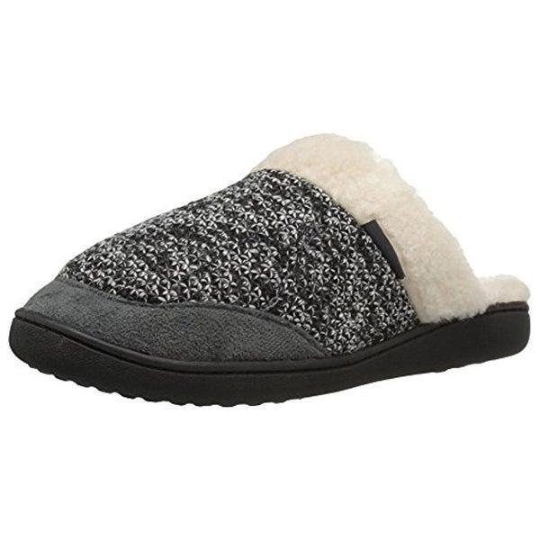 Northside Womens Ariya Slide Slippers Faux Fur Marled