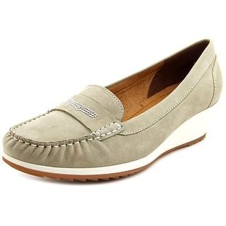 Ara Naya Moc Toe Leather Loafer