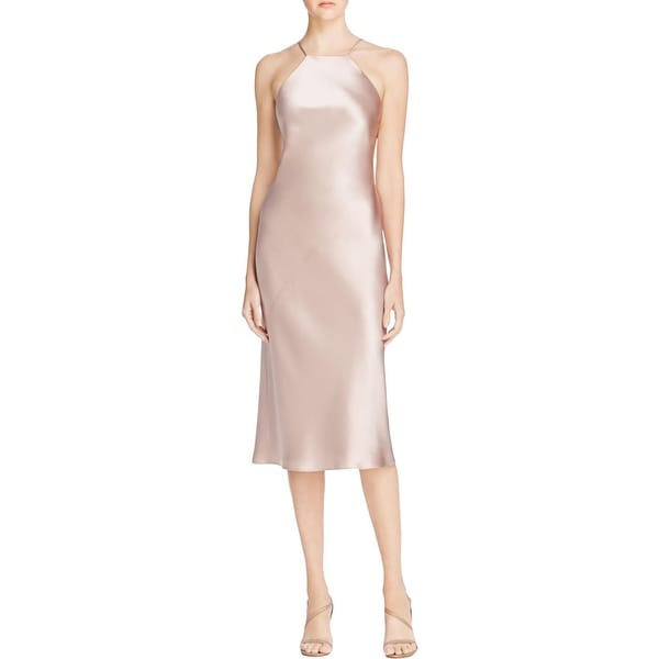 284bc28ccdd82 Shop ABS by Allen Schwartz Womens Slip Dress Satin Midi Calf - Free  Shipping Today - Overstock - 17654052