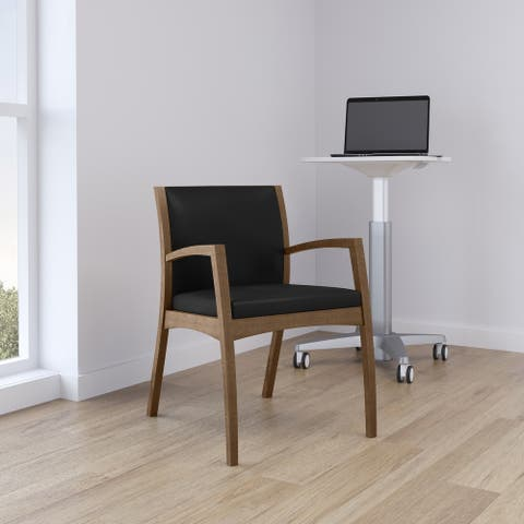 Beo Upholstered Side Chair with Cushioned Seat
