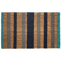 J and M Home Fashions  Vinyl Back Coco Doormat, 18 x 30 In.,