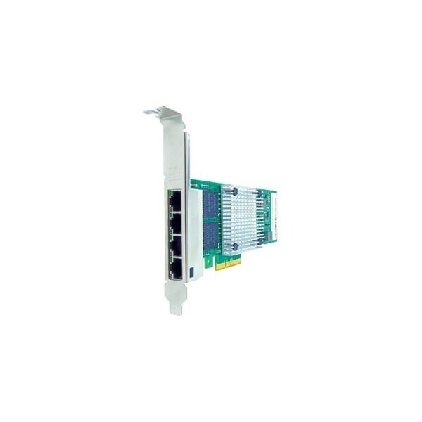 Axiom PCIe 1Gbs Quad Port Copper Network Adapter for Intel Quad Port Fiber Network Adapter