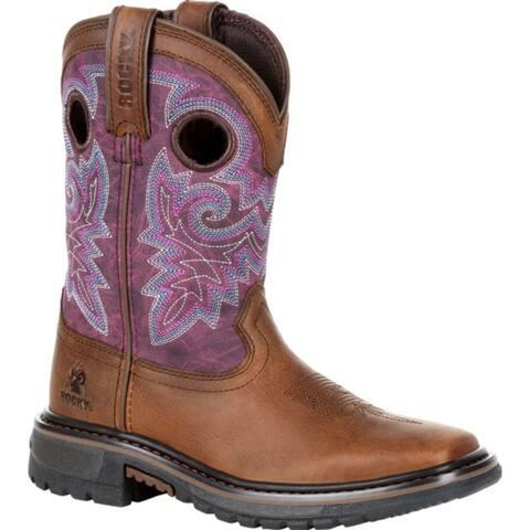 Rocky Kid's: Original Ride FLX Western Boot, RKW0302C