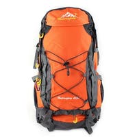 Father's Day HWJIANFENG Authorized Pack Water Resistant Sport Bag Hiking Backpack Orange 40L