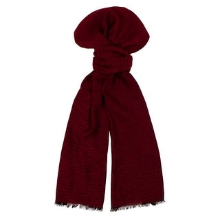 Moschino DM1 D1207/1 Red Signature Scarf