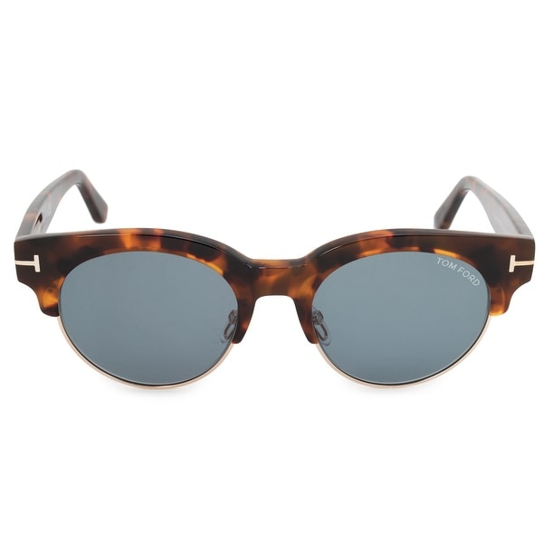 Shop Tom Ford Henri-02 Wayfarer Sunglasses FT0598 55V 50 Polarized ... 92a4926fdb39d
