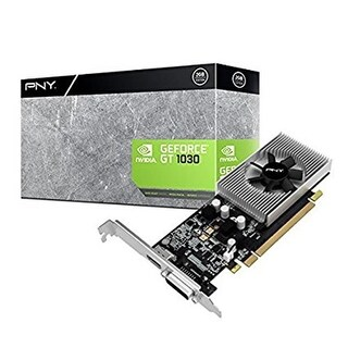 PNY Video Graphics VCGGT10302PB GeForce GT 1030 2GB Graphic Cards