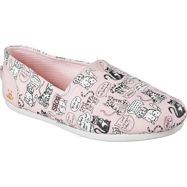 1d9d12ca751 Shop Skechers Women's BOBS Plush Quote Me Alpargata Light Pink - On ...