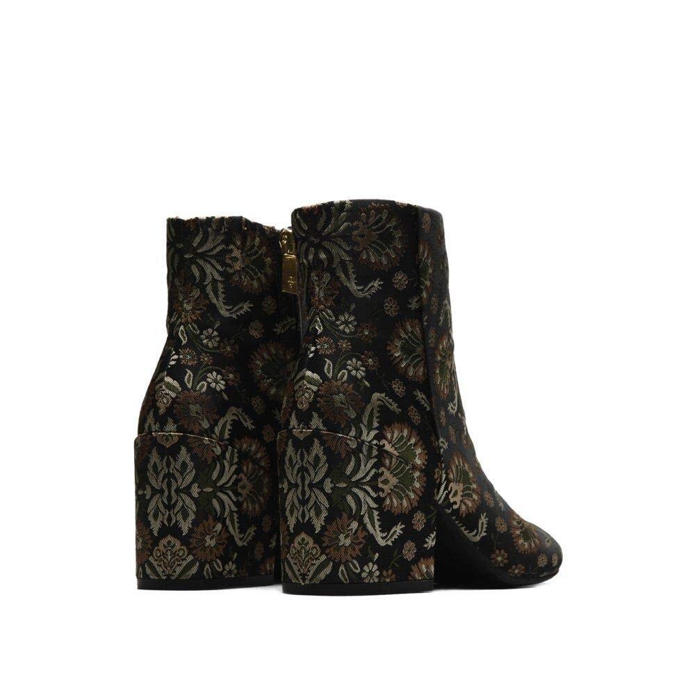 Kenneth Cole New York Women/'s Alyssa Stretch Knit Floral Heeled Bootie Fashion B