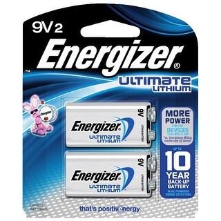 Energizer Ultimate Lithium 9V 2-Pack