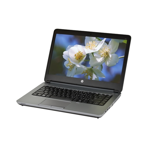 HP ProBook 640 G1 Core i5-4300M 2.6GHz 4GB RAM 750GB HDD DVD-RW Windows 10 Pro 14-inch Laptop (Refurbished)