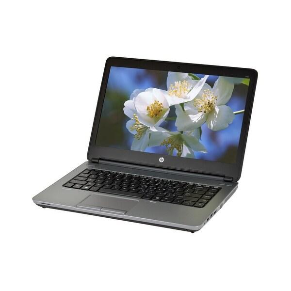 HP ProBook 640 G1 Core i5-4300M 2.6GHz CPU 4GB RAM 128GB SSD DVD-RW Windows 10 Home 14-inch Laptop