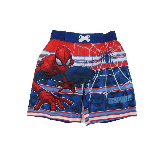 9e9e73dbf3 Shop Marvel Little Boys Royal Blue Spiderman Swim Shorts - Free Shipping On  Orders Over $45 - Overstock - 21130285
