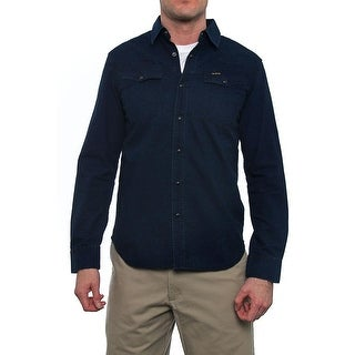 G-Star Raw Long Sleeve Collared Button Down Men Regular Casual