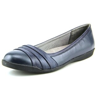 Life Stride Gawk Women Round Toe Synthetic Blue Ballet Flats