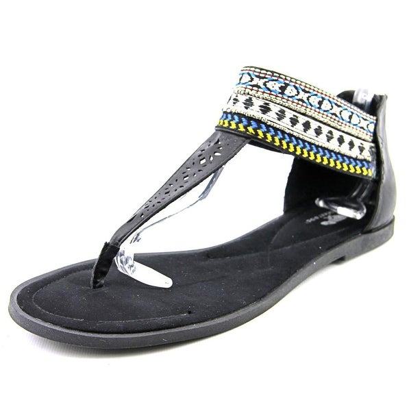 Rocket Dog Aliz Women Open Toe Synthetic Black Sandals