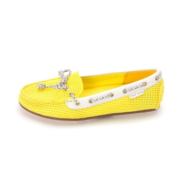 Cole Haan Womens Nyasiasam Closed Toe Boat Shoes - 6