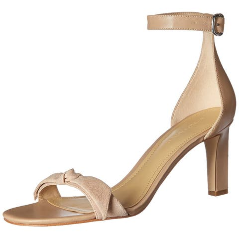 d4cd09f1252 Marc Fisher Womens Dalli Leather Open Toe Casual Ankle Strap Sandals