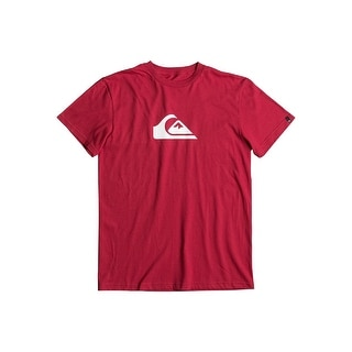 Quiksilver Mens MW Logo Shirt (Option: Red)