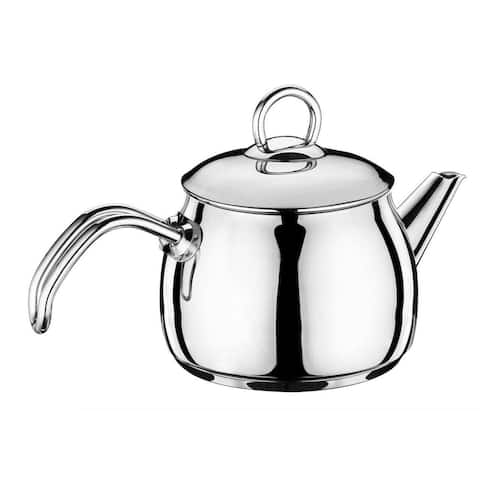 Hascevher Cigdem Stainless Steel Tea Kettle, Induction Compatiable