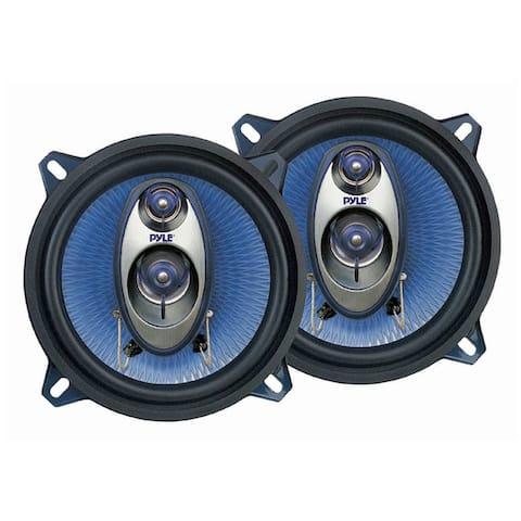 Pyle Audio PL53BLM Pyle PL53BL 5.25- Inch 200-Watt Three-Way Speakers (Pair)