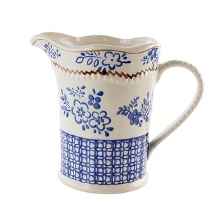 Link to Meritage Botany 2 Quart Ceramic Pitcher Similar Items in Serveware