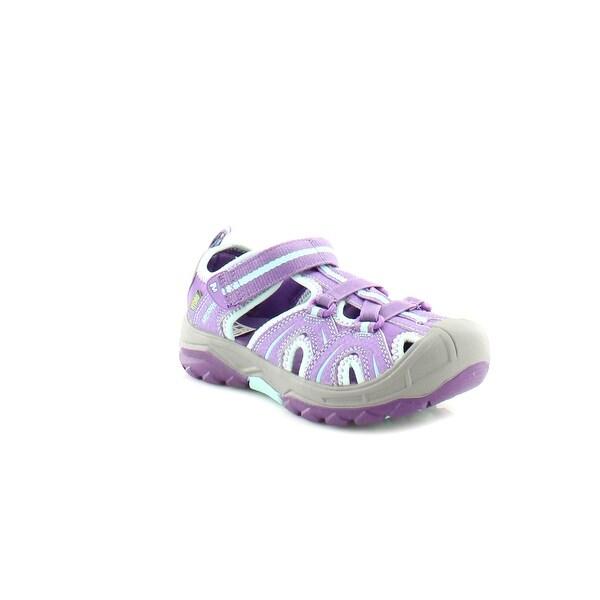 acd71447d2f0 Shop Merrell Hydro Hiker Girls Sandals Purple   Blue - Free Shipping ...