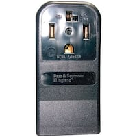 55054 Single-Surface Dryer Receptacle (4 Wire)