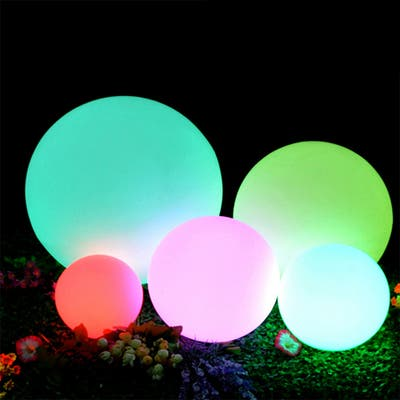 Modern Home LED Glowing Sphere with Infrared Remote Control