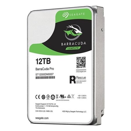 Seagate Barracuda Pro St12000dm0007 - Hard Drive - 12 Tb - Sata 6Gb/S