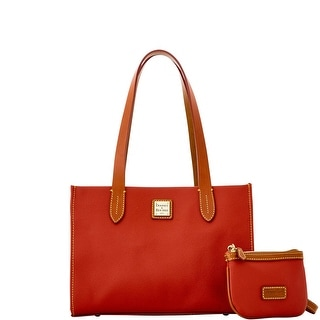 Dooney & Bourke Eva Small Shopper W Med Wristlet (Introduced by Dooney & Bourke at $228 in Mar 2015) - Geranium