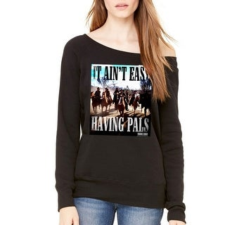 Young Guns Ain't Easy Women's Black Sweatshirt