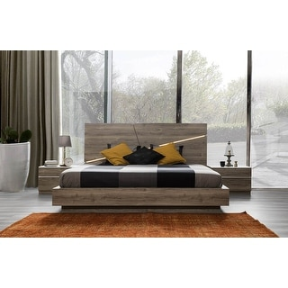 Link to Porto Modern Platform Bed Glossy Finish Similar Items in Bedroom Furniture
