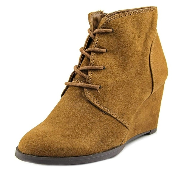 American Rag Womens BAYLIE Closed Toe Ankle Platform Boots