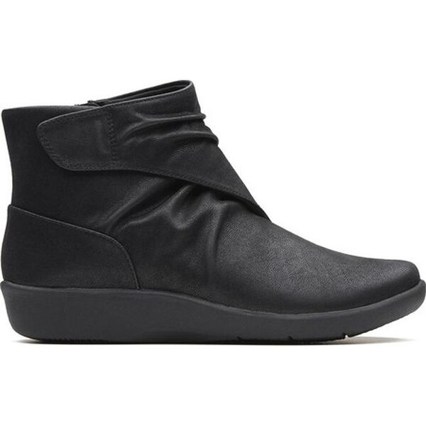 Sillian Tana Ankle Boot Black Synthetic