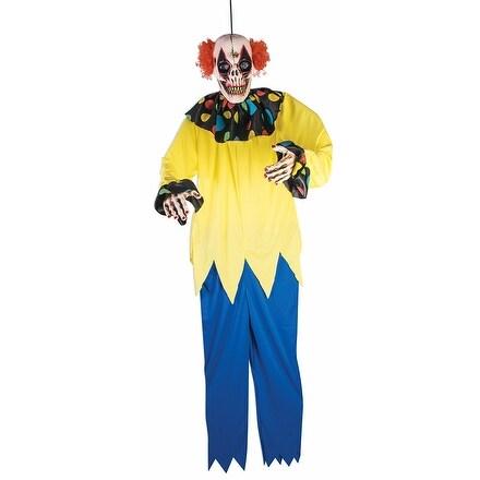 Sinister Clown 6 Foot Halloween Prop Décor