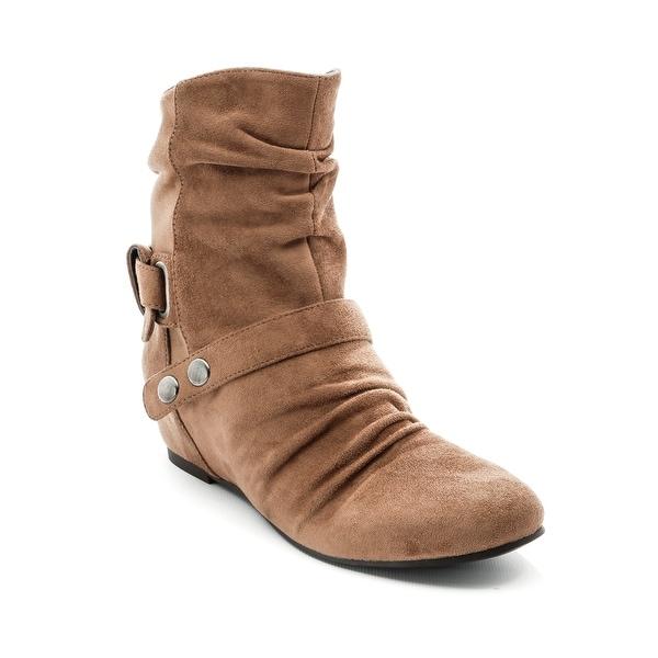 Andrew Geller Mercer Women's Boots Mushroom