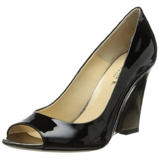 Marvin K. Womens Tracey Suede Pumps Wedge Heels