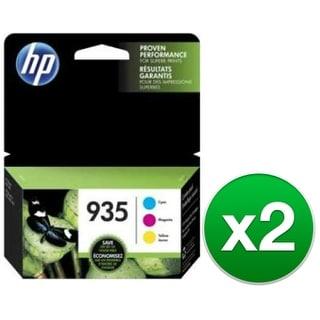 HP 935 3pack Cyan/Magenta/Yellow Original Ink Cartridge (2-Pack) Ink Cartridge