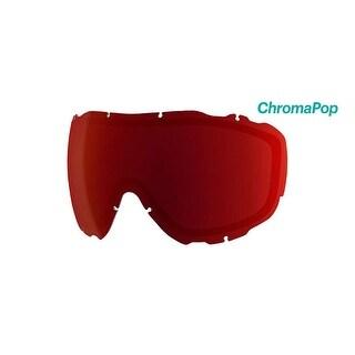 Smith Optics Prophecy Turbo Ski Goggle - Replacement Lens - ChromaPop Sun Red Mirror - PR5CPR2
