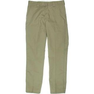 Dickies Mens Twill Taper Straight Leg Pants - 34/34