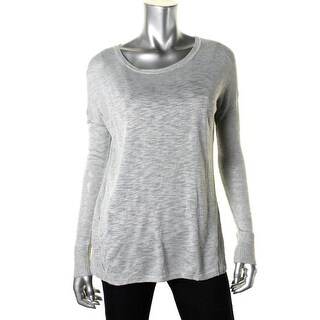 Vince Womens Knit Heathered Knit Top - XS