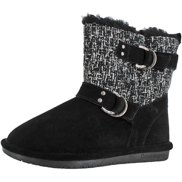 Bearpaw Nova Women's Short Ankle Sheepskin Winter Boots